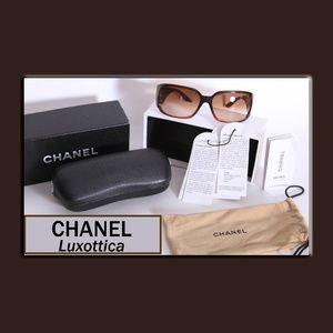 CHANEL Luxottica - Agordo Brown Sunglasses